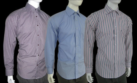 $109 for Three H&P European Design Premium Shirts incl. Nationwide Delivery (value $368)
