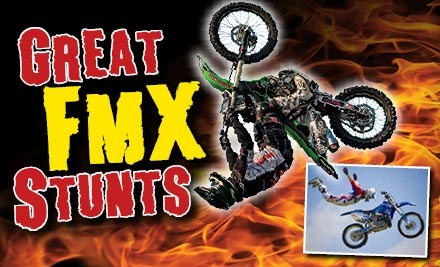 $69 for a Family Pass to the Demon Energy/Rock FM Monster Truck FMX & Stunt Tour, or $27 for One Adult Pass in Tauranga, Baypark Stadium - Saturday 26 Jan (value up to $90)