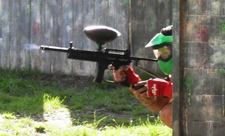 $5 for Full Day Entry incl. Mask, Gun & 50 Paintballs (value $22)