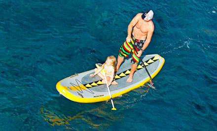 $30 for a One-Hour Stand Up Paddle Boarding Experience for Two People at Orewa Beach (value $70)