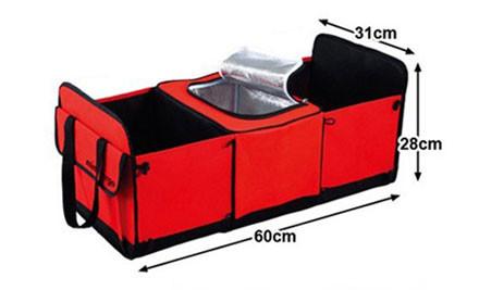 $35 for a Three-Bin Collapsible Car Boot Organiser