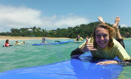 Two-Hour Surf Lesson on Tutukaka Coast