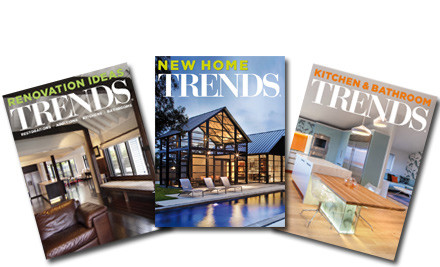 $48 for Eight Issues of Trends Home Series or $65 for Twelve Issues of Trends Home & Commercial Design Series (value up to $132)