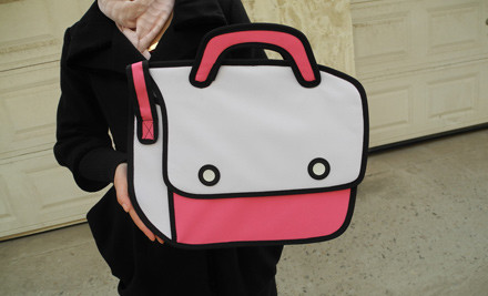 From $40 for a 3D Cartoon-Style Shoulder Bag incl. Nationwide Delivery