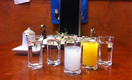 $35 for a Japanese Platter incl. 6 Kinds of Premium Yuzu Sake from Sapporo Japanese Restaurant (value $75)