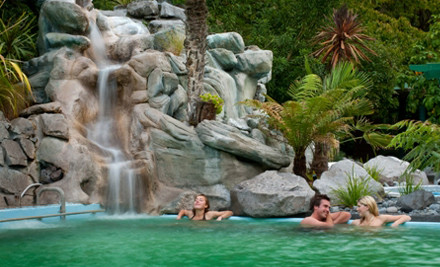 From $169 for a One Night Midweek Escape for Two People incl. Hot Springs Passes, a Bottle of NZ Wine & 24-Hour WiFi (value up to $365)