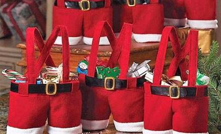 $13 for a Santa Pants Hamper Bag incl. Nationwide Delivery