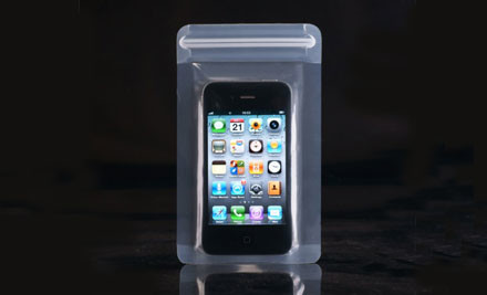 $9 for One or $15 for Two Waterproof Bag for iPhone
