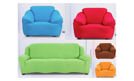 Stretch Couch Cover In 5 Colours Grabone