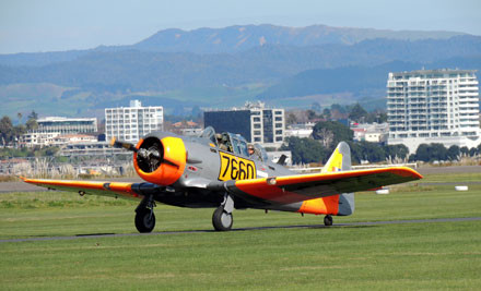 50% off Aerobatic & Scenic Flights Over Mt Maunganui/Tauranga (value up to $714)