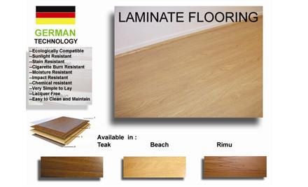 $149 for 10 Square Metres, $295 for 20 Square Metres or $739 for 50 Square Metres of Laminated Flooring