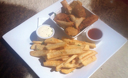 $19 for an After Work Platter & Any Five House Wines or Tap Beer (value $72)
