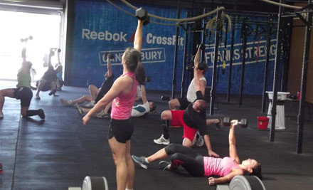 $199 for a 12-Week Monday to Friday Daytime CrossFit Membership