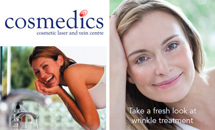 $199 for Dysport®/Botox® Treatment for Crows Feet or Frown Lines by Dr Kamal Karl at Cosmedics (value $400)