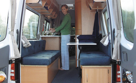 $525 for a Five-Day Hire in a Two Berth Premier Self-Contained Campervan Auckland or Christchurch (value $1,575)