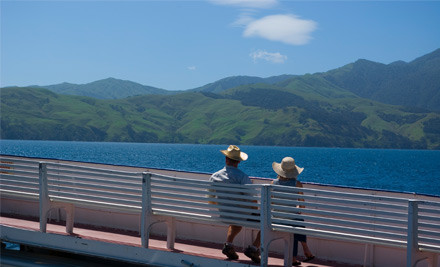$269 for a Return Ferry Trip for One Car & Two Adults to Great Barrier Island (value $469)