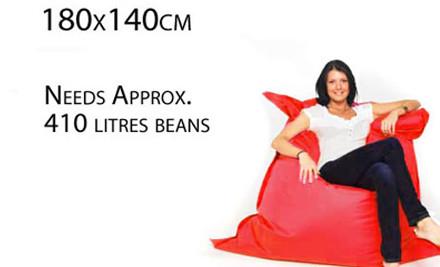 $39 for a Rectangular Bean Bag 140cm x 180cm
