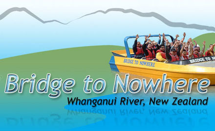 $89 for a 4.5-Hour Bridge To Nowhere Tour for One incl. a Two-Hour Jet Boat Ride, Guided Walk & Morning Tea - Wanganui (value $145)