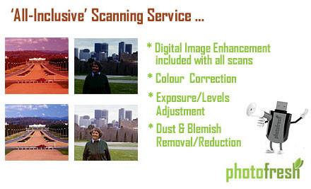 $50 for $100 Voucher to Convert Old Slides, Photos & Negatives to Digital Format (value $100)
