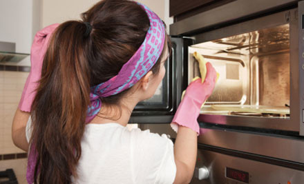 $39 for Two Hour House Clean or One Hour House & Oven Clean (value $120)
