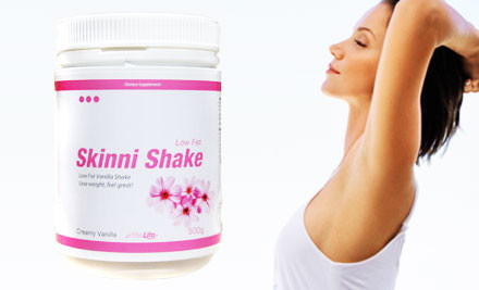 $19 for a Slim Lite Skinni Shake 500g incl. Nationwide Delivery (value $50)
