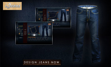 $59 for a Pair of Custom Made Jeans (value $270)
