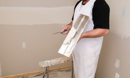 $99 for Four Hours of Gibstopping & Preparation Work (value $200)