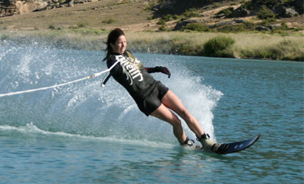 $99 for a Full Day of Wake Boarding or Water Skiing on a Private Lake (value $149)