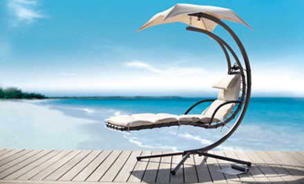 $325 for a Palm Lounger in Natural or Lime Green incl. Nationwide Delivery (value $799)