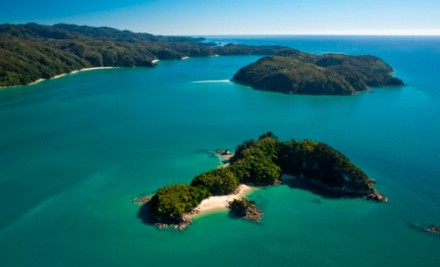From $938 for an All-Inclusive Three-Day Abel Tasman Guided Walk or a Guided Sea Kayak & Walk, incl. All Meals, Accommodation & Transfers (value up to $1,470)
