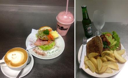$15 for a $30 Food & Beverage Voucher at Pilkingtons Cafe (value $30)