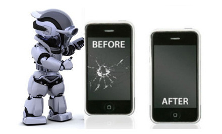 $49 for an iPhone Home Button or Back Cover Repair, $99 for an iPhone or iPod Screen Repair, or $199 for an iPad 1, 2 or 3 Screen Repair (value up to $399)