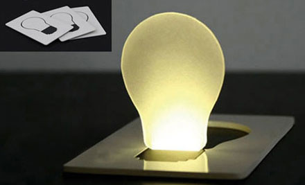 $5 for a Concept Design LED Pocket Light/Lamp
