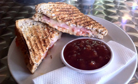 $15 for Two Tall Coffees, Two Toasted Sandwiches & Two Slices (value $31)