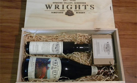 $40 for a Deluxe Gift Box - a Bottle of Wrights Entity Methode, Olive Oil & Wrights Dukkah (value $70)
