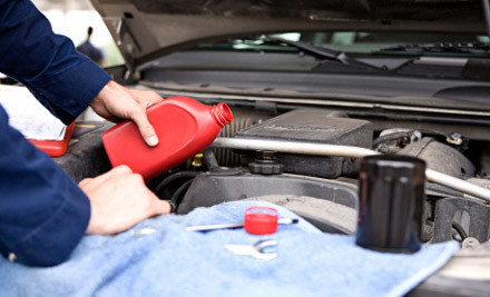 $140 for a Vehicle Service & Front Brake Pads Change (value $280)