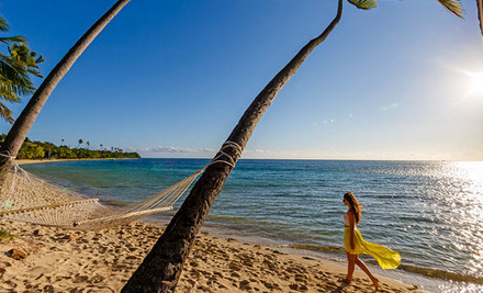 $699 for Five Nights for Two Adults & Two Children at Plantation Island Resort, Fiji (value $1,550)