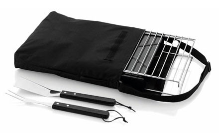 $40 for a Foldable BBQ Set