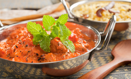 $13 for Any Two Takeaway Curries & Rice (value up to $22)