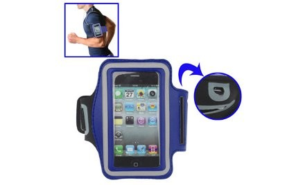 $10 for One or $20 for Two Sports Armbands For iPhone 3GS, 4, 4S & 5 iPod Touch Or Samsung Galaxy SI, SII & S3