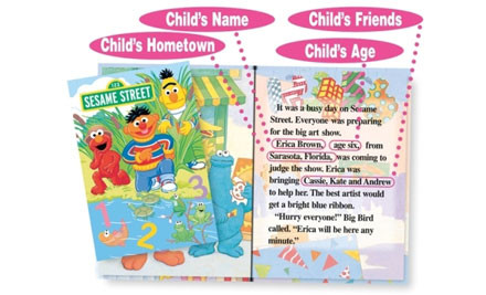 $18 for a Personalised Children's Book incl. Delivery - 11 Titles to Choose From