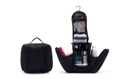 $23 for a Black Toiletry & Make Up Bag