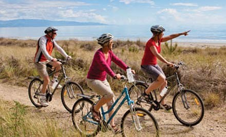 $49 for the Moutere Wineries' Bike Tour for Two people (value $105)