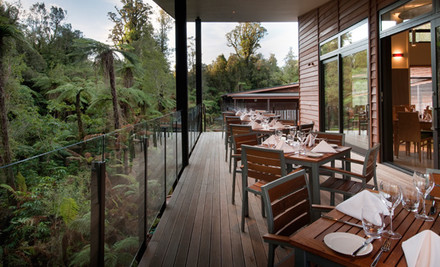 $649 for Two Nights in a Deluxe Room, a Bottle of Sparkling Wine, Canapé Platter on Arrival, a Five-Course Degustation Dinner on One Night & Full Cooked Breakfast for Two Each Morning at Te Waonui Forest Retreat, Franz Josef Glacier (value $1,098)