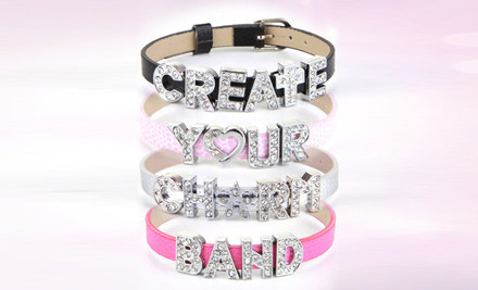 $4 to Create your Personalized Charm Bracelet & Receive 60% off All Charms incl. Nationwide Delivery (value $11.25)
