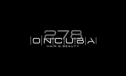 $25 for an Eyebrow Shape & Tint, Eyelash Tint & $20 Voucher at 278 on Cuba (value $65)