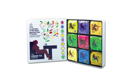 $40 for The London Tea Company 72-Bag Assortment Tin incl. Delivery