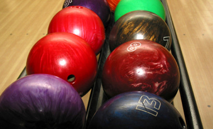 $10 for Two Games of Tenpin Bowling (value $25)
