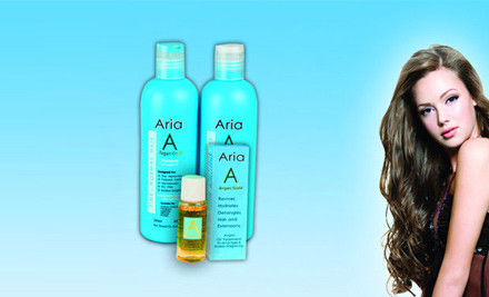$27 for an Aria Argan Gold Moroccan Oil Hair Pack