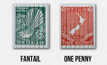 From $29 for NZ Vintage Stamps Printed on Corru Art